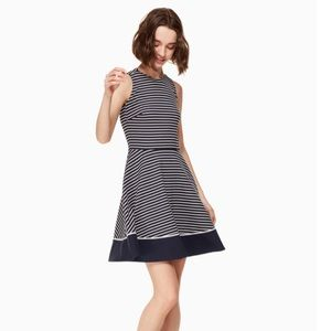 Kate Spade stripe ponte dress size 8